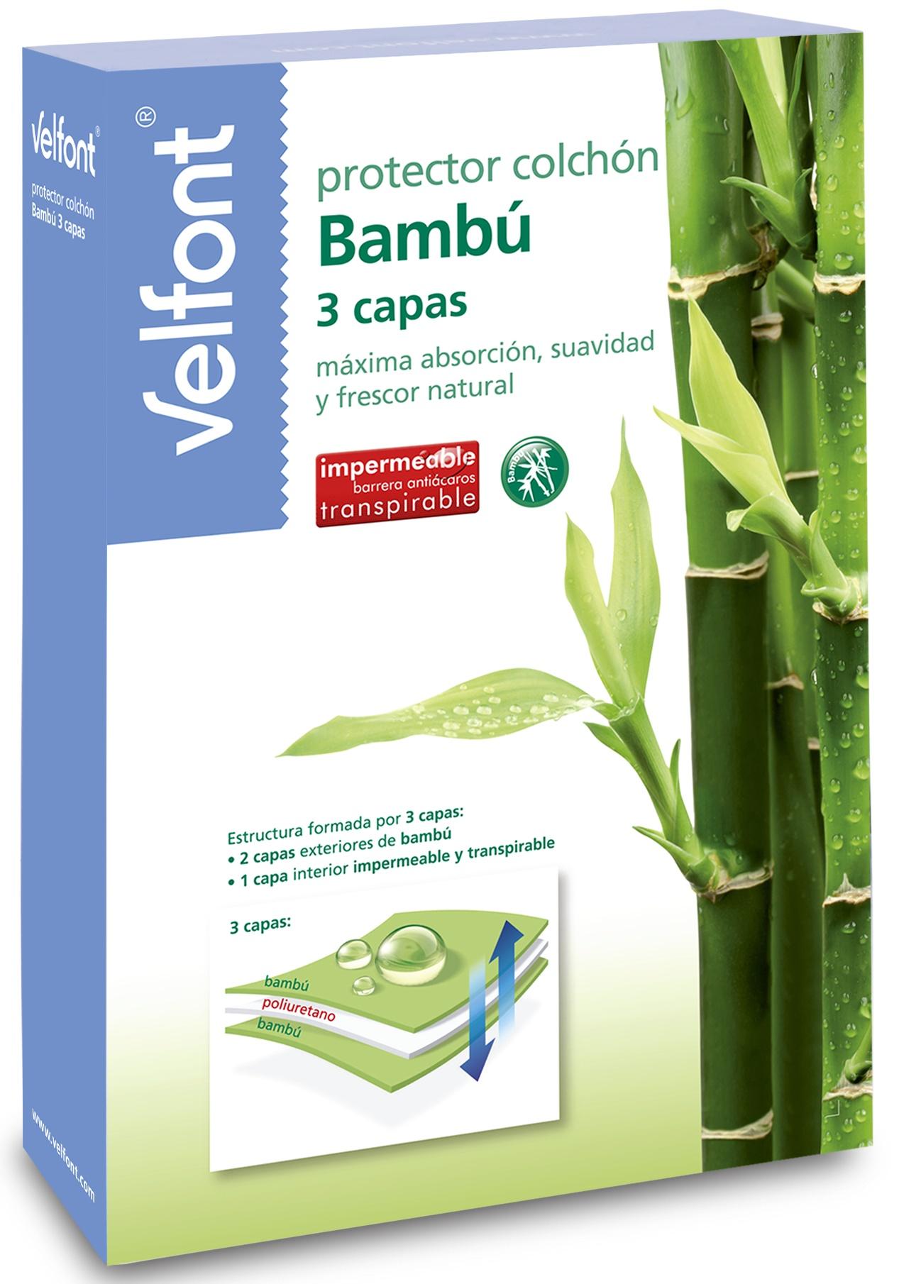 3-vrstvé prostěradlo bambus žerzej